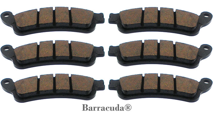Brake Pads Set GL1800 01-17