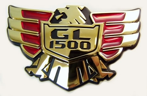 Emblem, Side cover GL1500 OEM