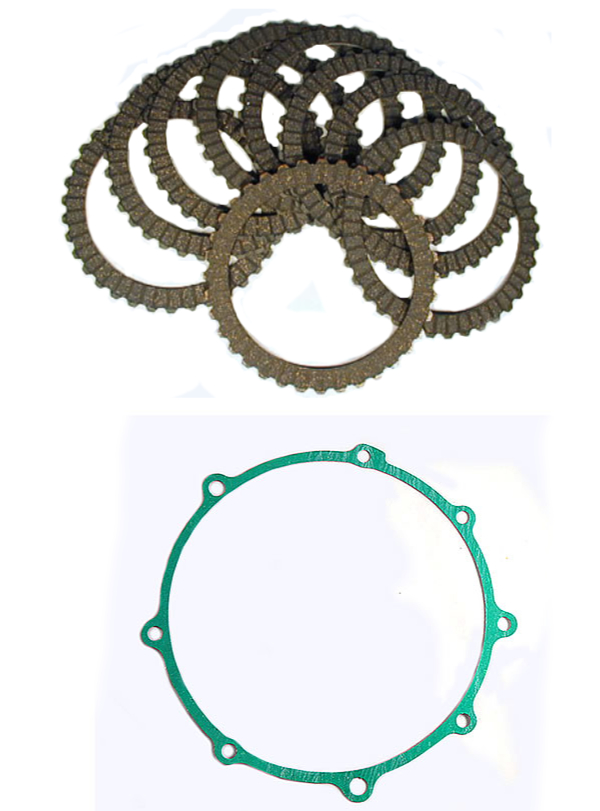 Clutch Plates & Gasket kit GL1200 86-87