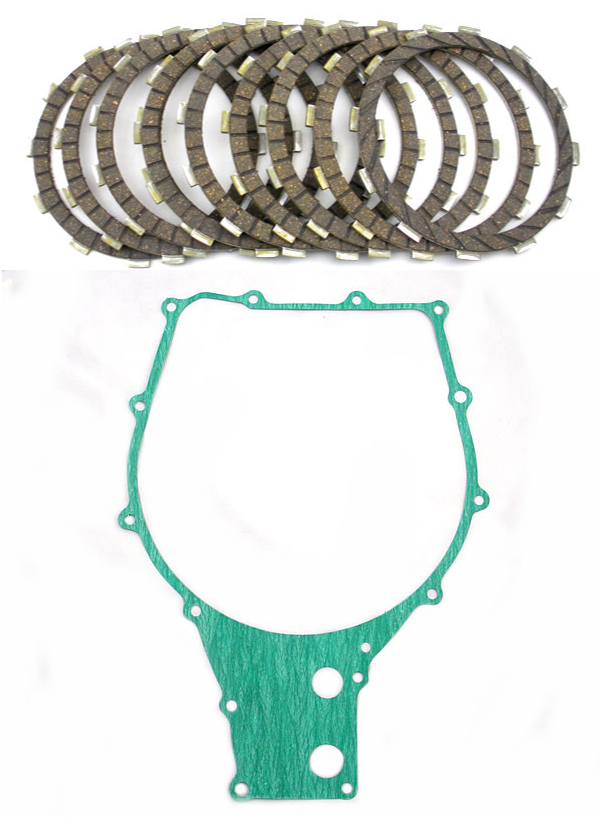 Clutch Plates & Gasket kit GL1500 and Valkyrie 97-03