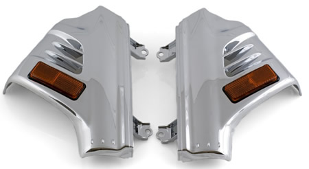 Fork covers GL1800 and F6B non-airbag