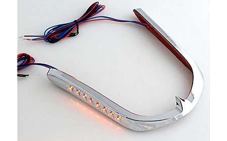 Trim, front fender LED GL1500
