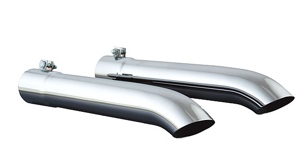 Exhaust extensions, single pipe GL1500