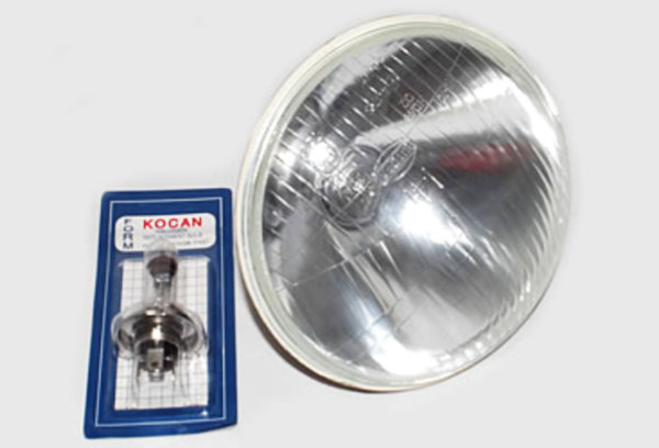 Headlight, 60/55W halogen