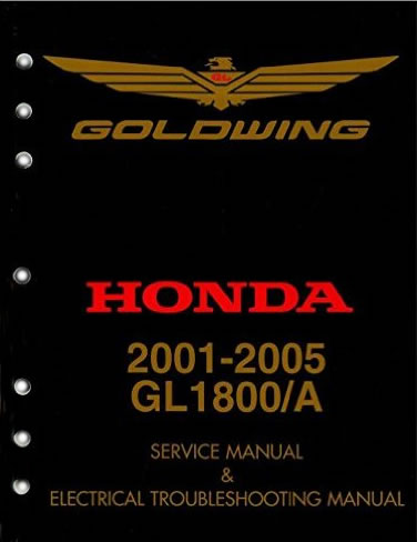 Service Manual, Honda Gold Wing GL1800 01-05