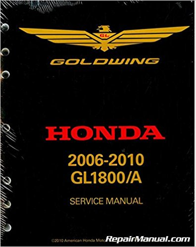 Service Manual, Honda Gold Wing GL1800 06-10
