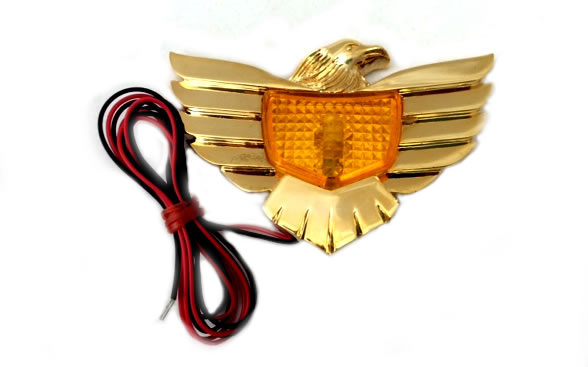 Eagle, lighted - Amber/Red