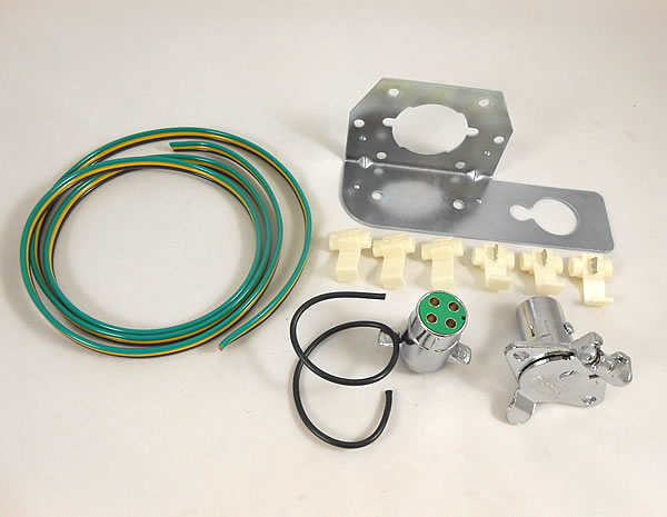 Trailer wire harness kit, 4 contact