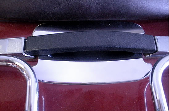Trunk handle scratch guard stainless GL1100
