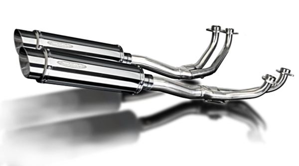 Exhaust system stainless GL1100 80-83