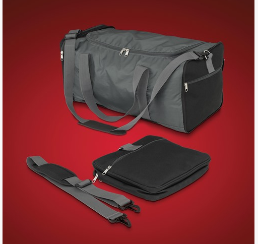 Trunk rack bag - collapsible