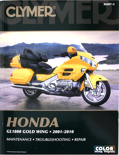 Workshop Manual, Clymer Gold Wing GL1800 01-10