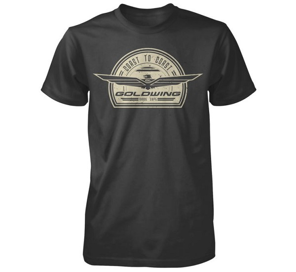 Gold Wing Retro tee - Mens